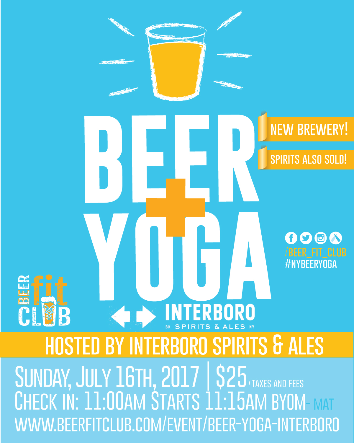 Beer+Yoga at Interboro